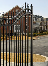 Home in a Gated Community